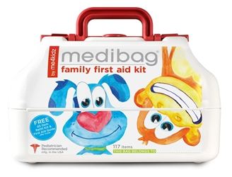 MediBag - First Aid Kits by me4kidz, LLC