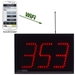 WiFi Visual-Pager® Display - Microframe Model D4520 (3-Digit)  - D4530