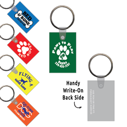 Ring-Its Leash/Collar Tags - Rectangle Small