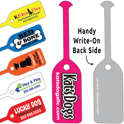 Tag-Its Leash/Collar Tags - Rectangle