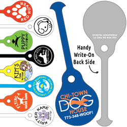 Tag-Its Leash/Collar Tags - Round